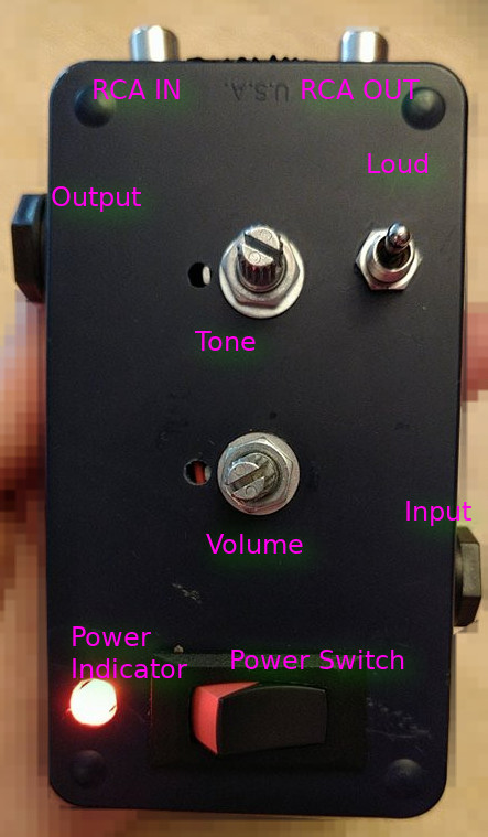 Preamp - Labeled